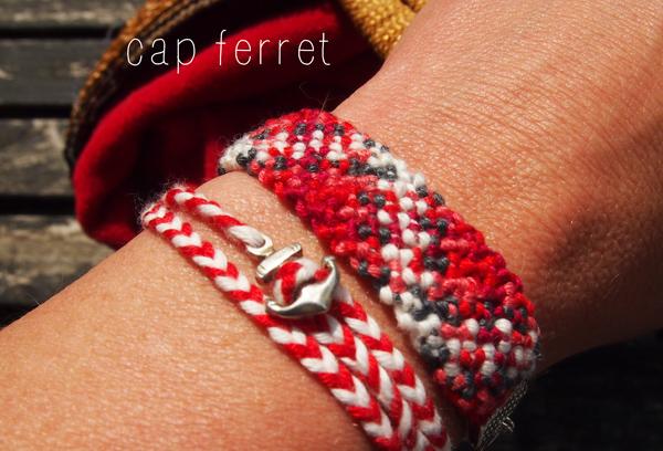 Bracelets Chouette Kit été 2013 Cap Ferret