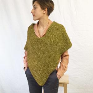 kit crochet-poncho-olive-porte