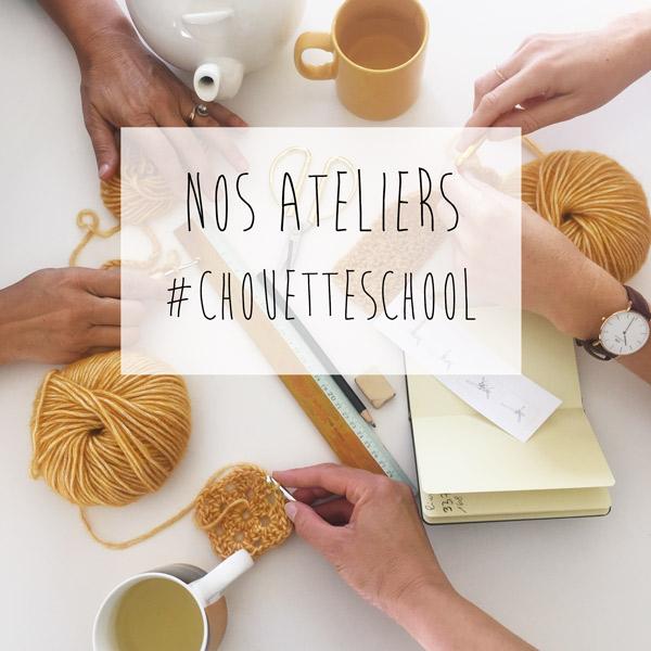 Chouette Kit lance ses ateliers crochet !