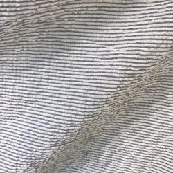 Seersucker gris clair