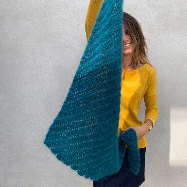 pointe crochet illusion tricot