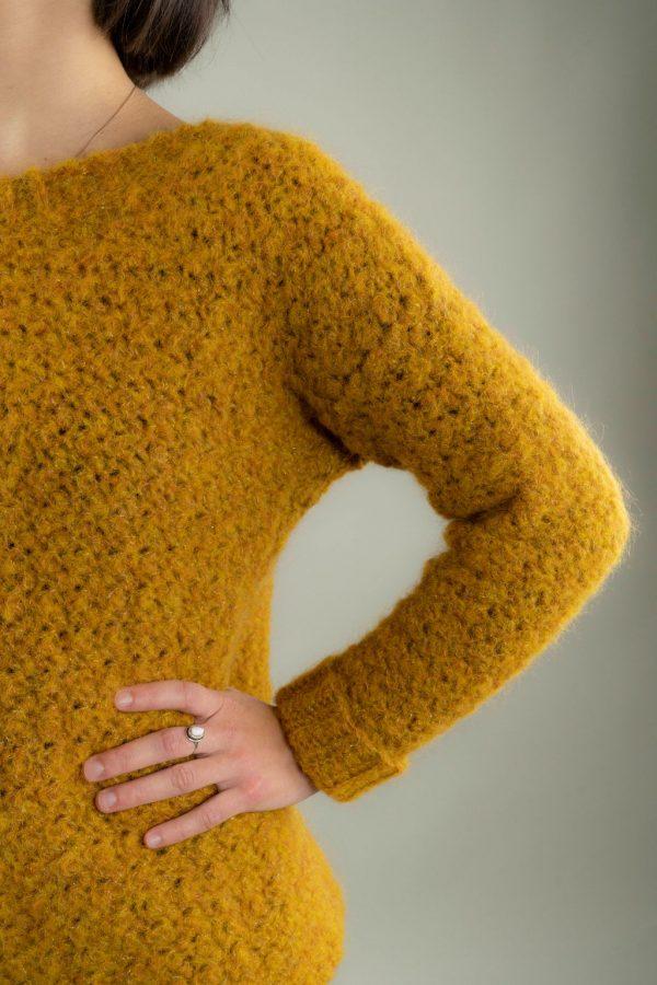 pull texture crochet