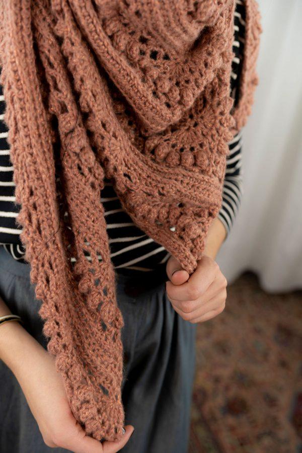 pointe complexe texturee crochet