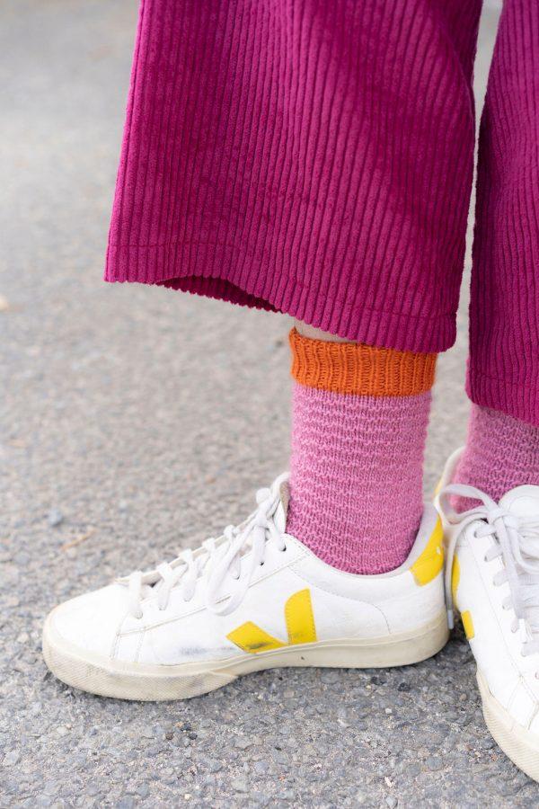kit tricot facile chaussettes