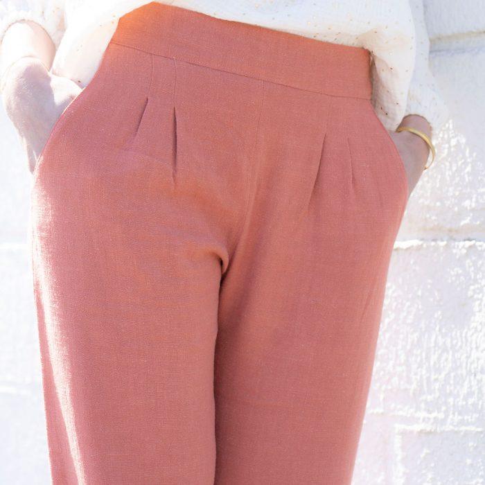 blouse-emmanuelle-écrue-pois-dorés-hugo-lin-blush-129